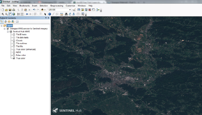 wms in ArcMap